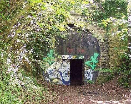 Combe Down tunnel before two tunnels
