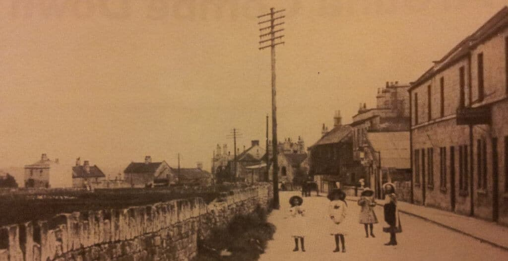 Combe Road, Combe Down, early 1900s
