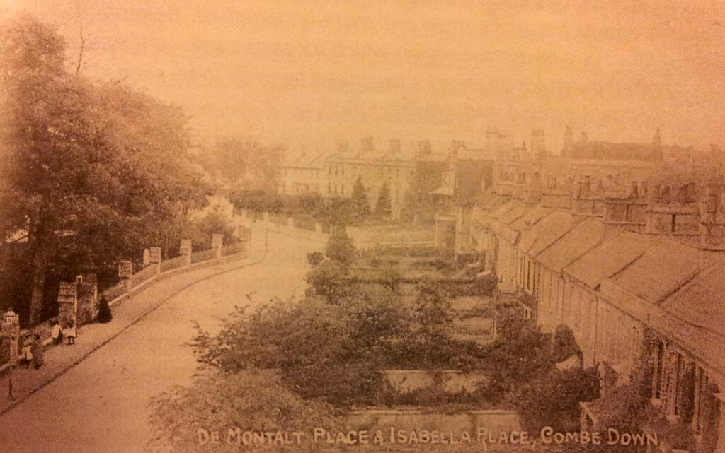 de Montalt Place and Isabella Place about 1910