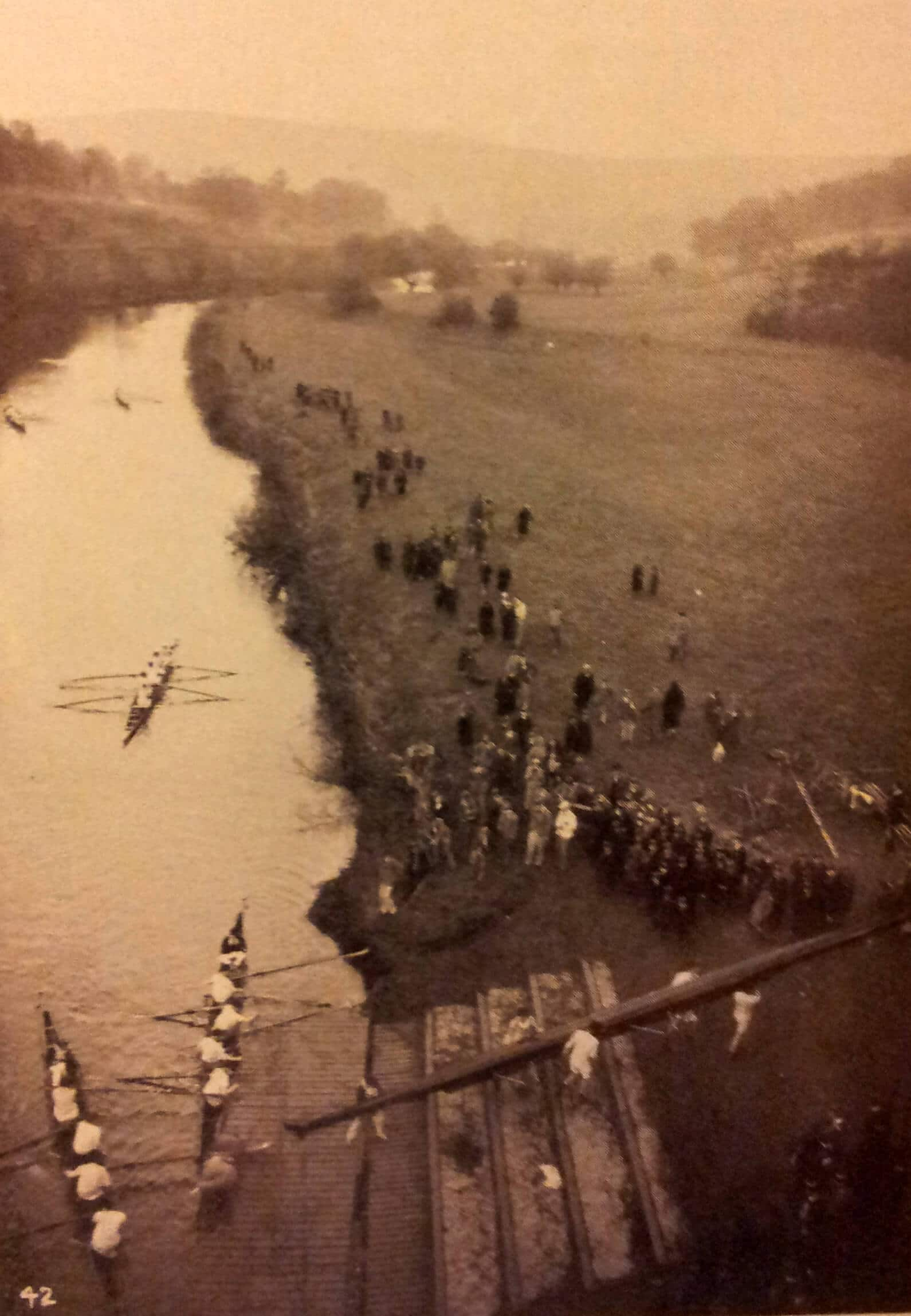 Monkton Combe school rowing about 1930