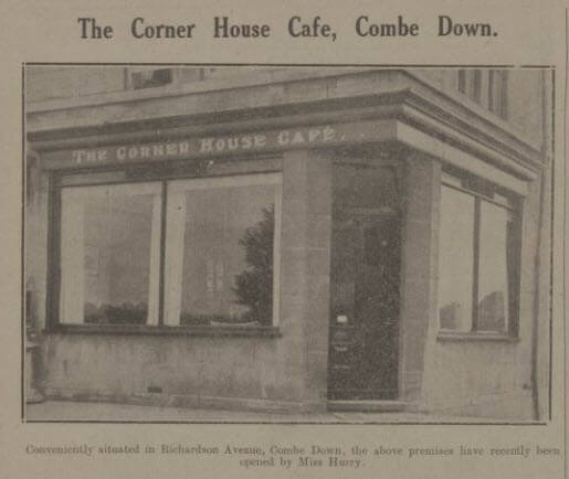 Photo of The Corner House Cafe, Richardson Avenue, (The Firs), Combe Down