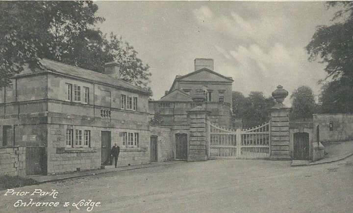 Prior Park entrance early 1900s