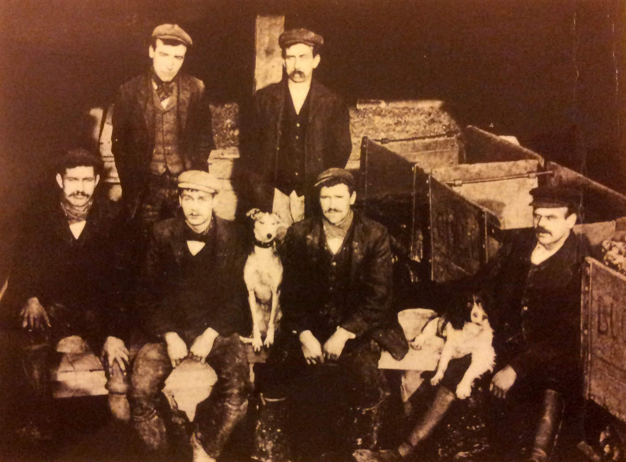 Quarrymen early 1900s
