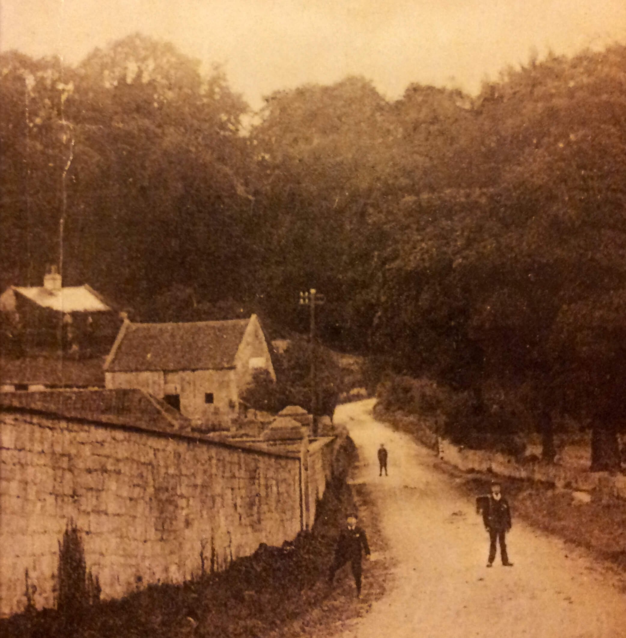 Summer Lane, Combe Down, early 1900s