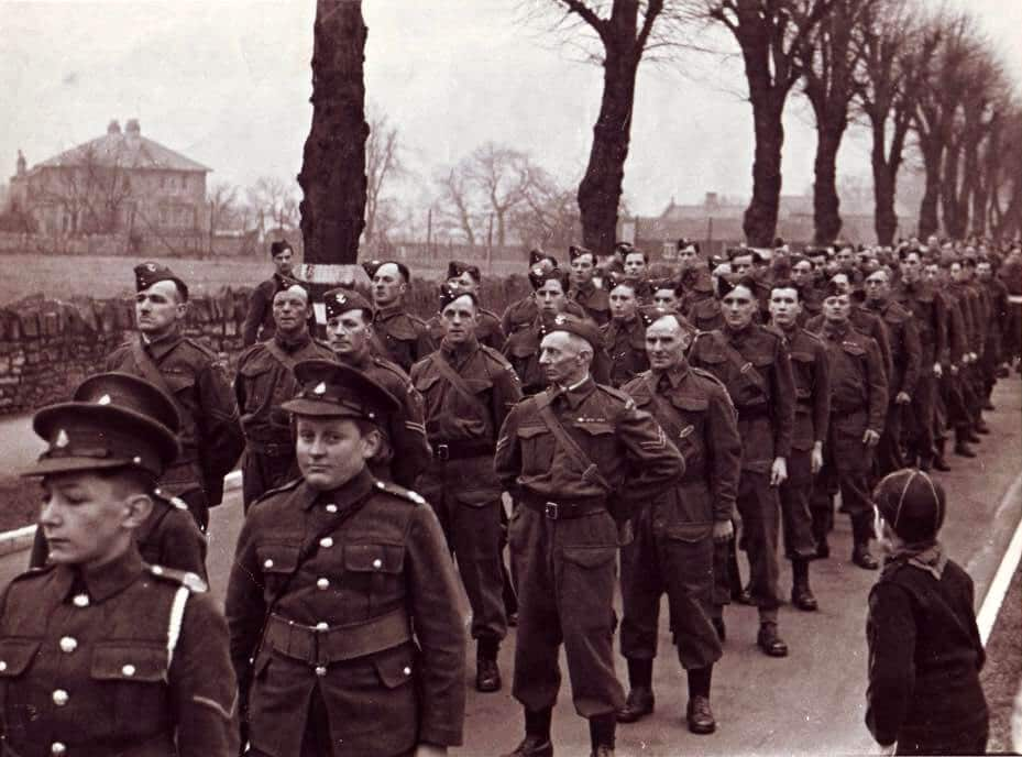The Home Guard in The Avenue