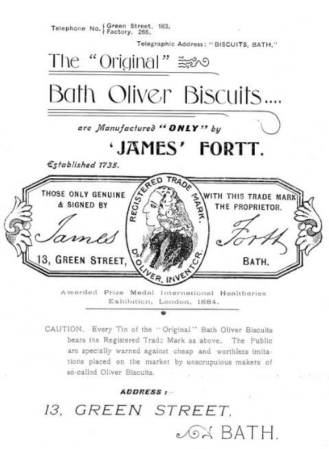 Fortt Bath Oliver advert