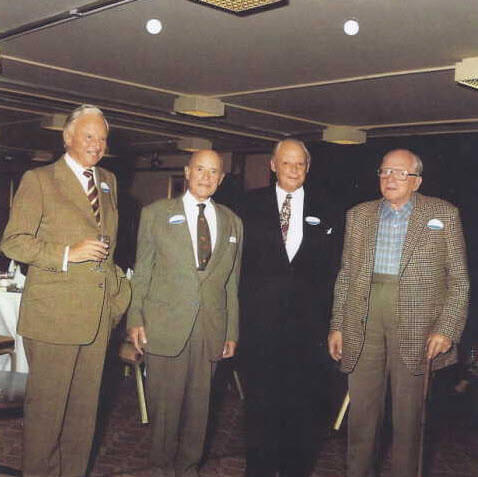 Arnold, William, Donald, Charles Hagenbach (L to R) in 1984
