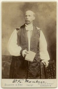 Rt Rev William George Peel by Elliott & Fry c 1900