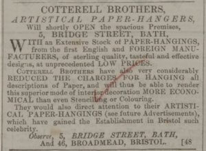 Cotterell Brothers - Bath Chronicle and Weekly Gazette - Thursday 7 August 1845