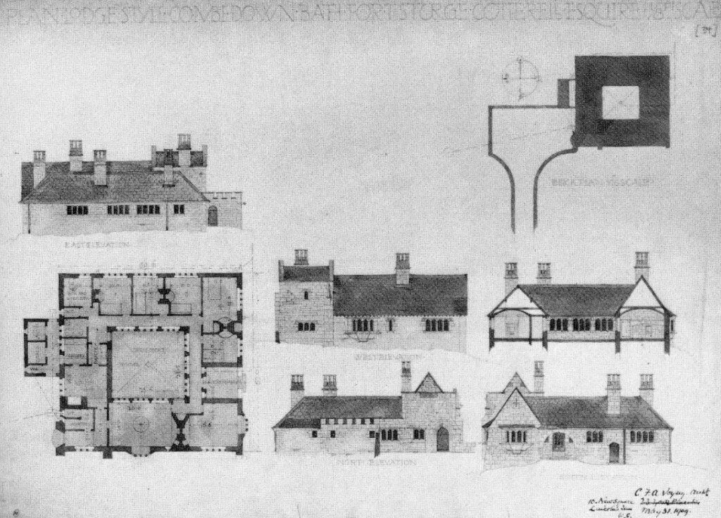 Drawings of Lodge Style by Voysey