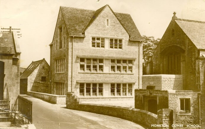Postcard of Monkton Combe School