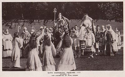The Crowning of King Edgar, Bath Pageant 1909