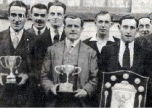 My Dad centre was Captain of the Horseshoe skittle team I believe this was about 1935