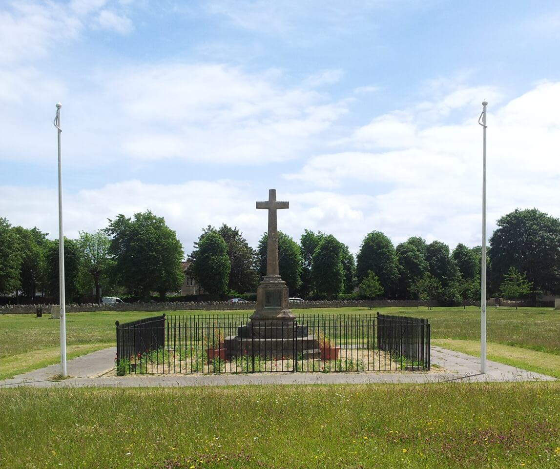 Combe Down war memorial cross