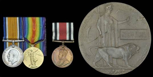 Medals of William Ewart Emmott Milsom