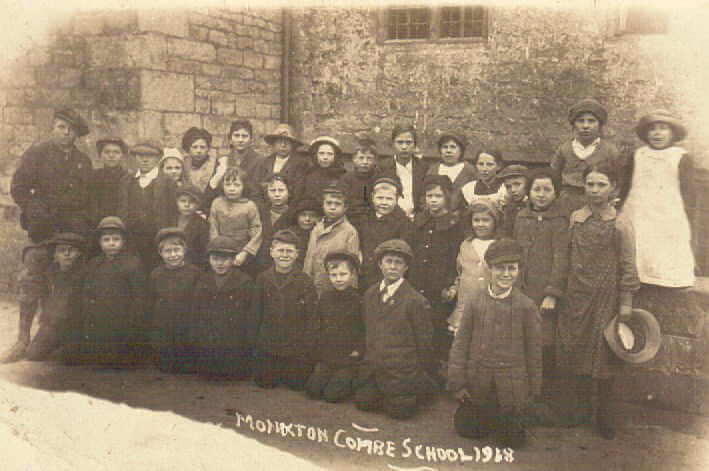 Monkton Combe village school 1918