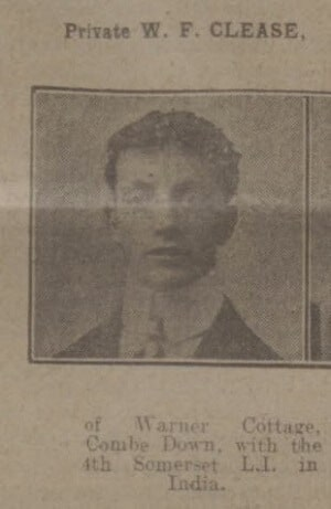 W F Clease - Bath Chronicle and Weekly Gazette - Saturday 17 April 1915