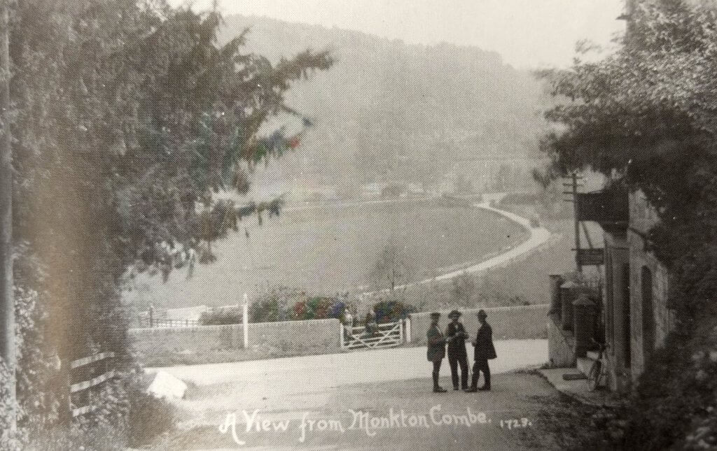A view from the Viaduct Inn about 1912