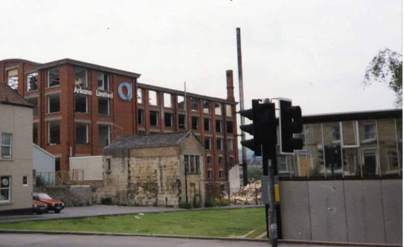 Arkana factory prior to demolition