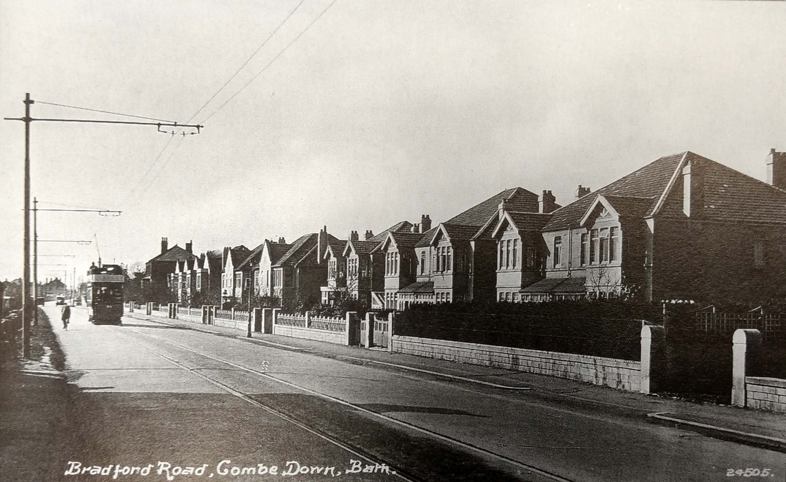 Bradford Road, Combe Down about 1930