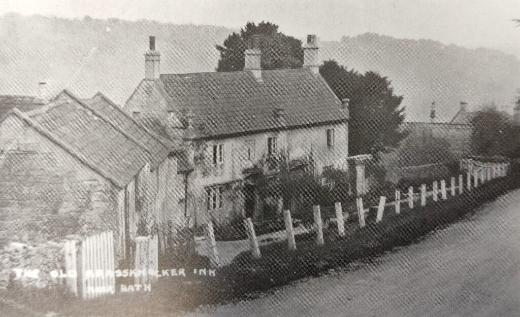 Brassknocker inn, Brassknocker Hill early 1900s