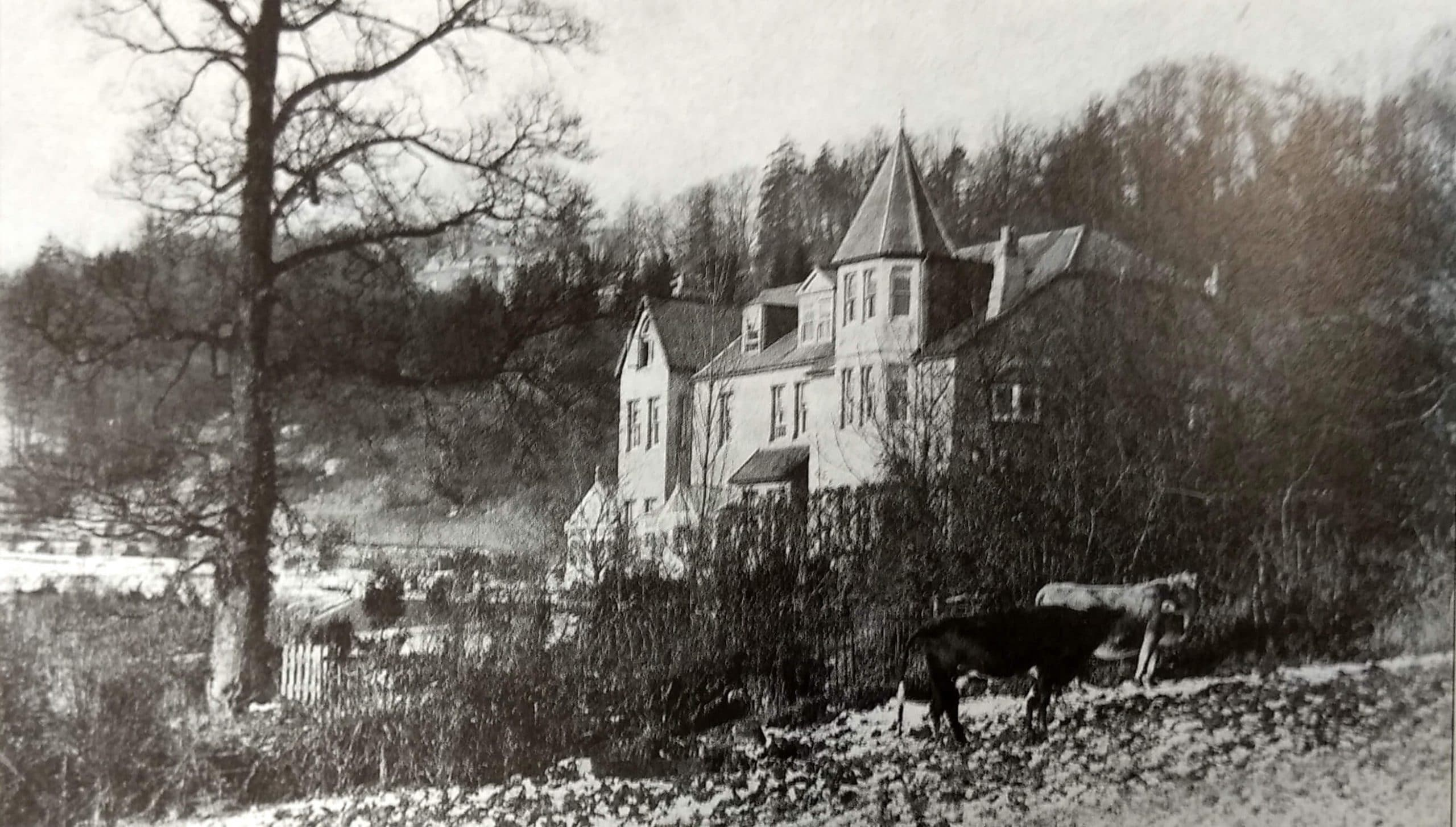 Bushey House, Monkton Combe about 1905