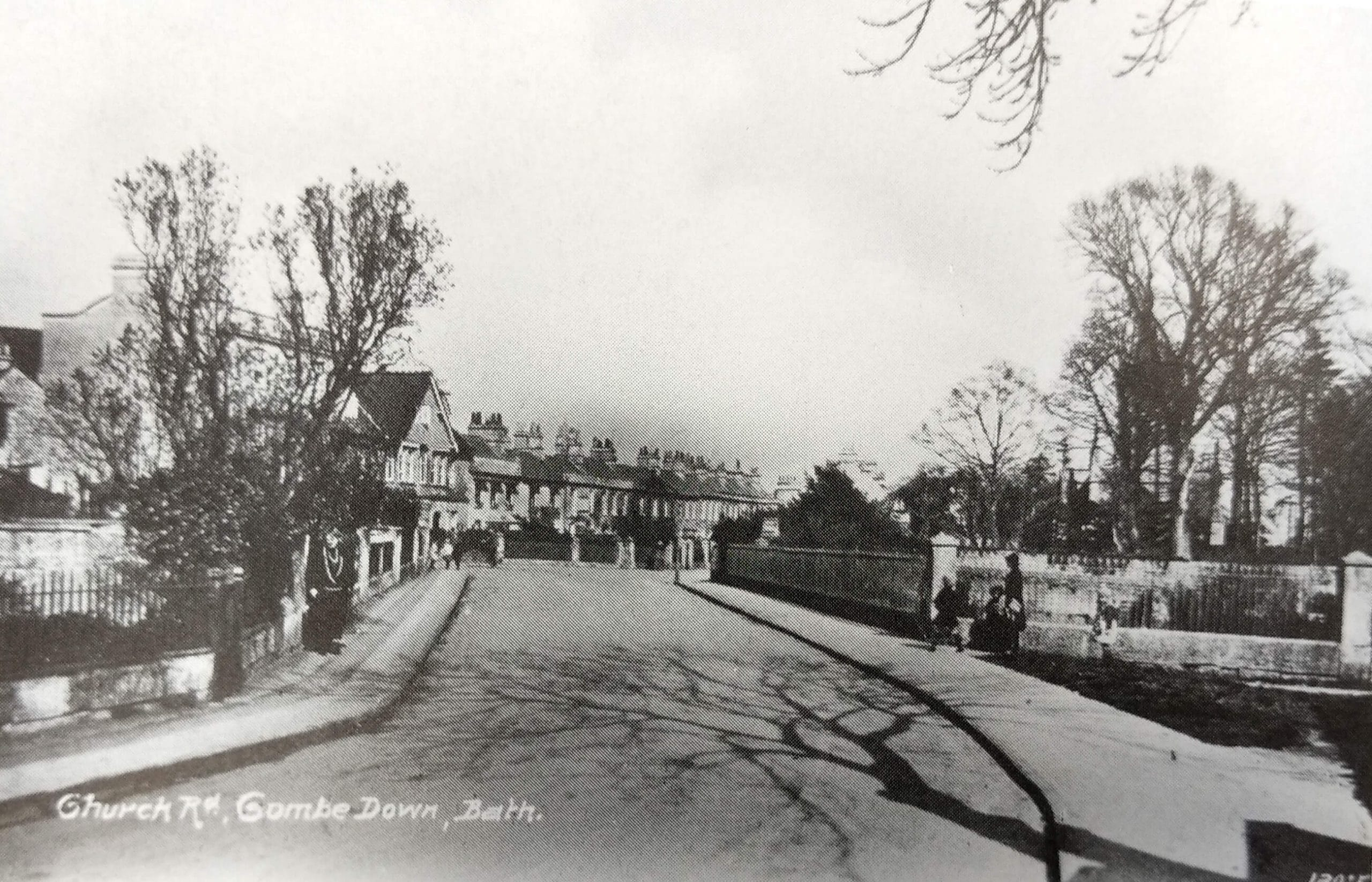 Church Road, Combe Down about 1912