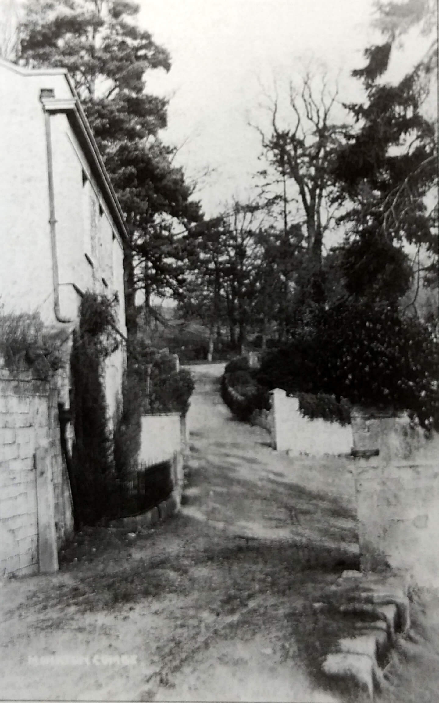 Combe Grove farmhouse about 1905
