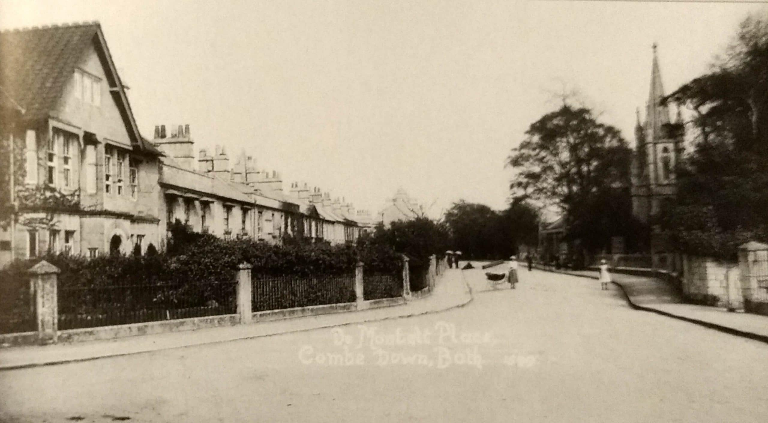 De Montalt Place, Combe Down about 1915