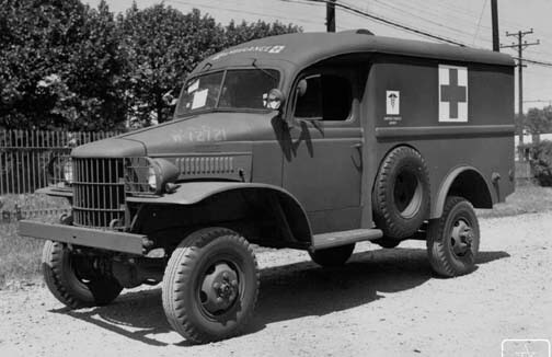 Dodge WC9 ambulance