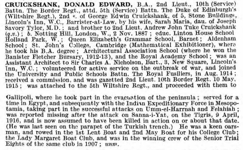 Donald Edward Cruickshank