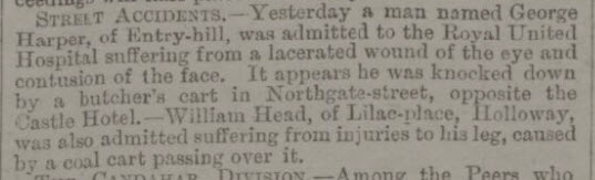 George Harper - Bath Chronicle and Weekly Gazette - Thursday 10 March 1881