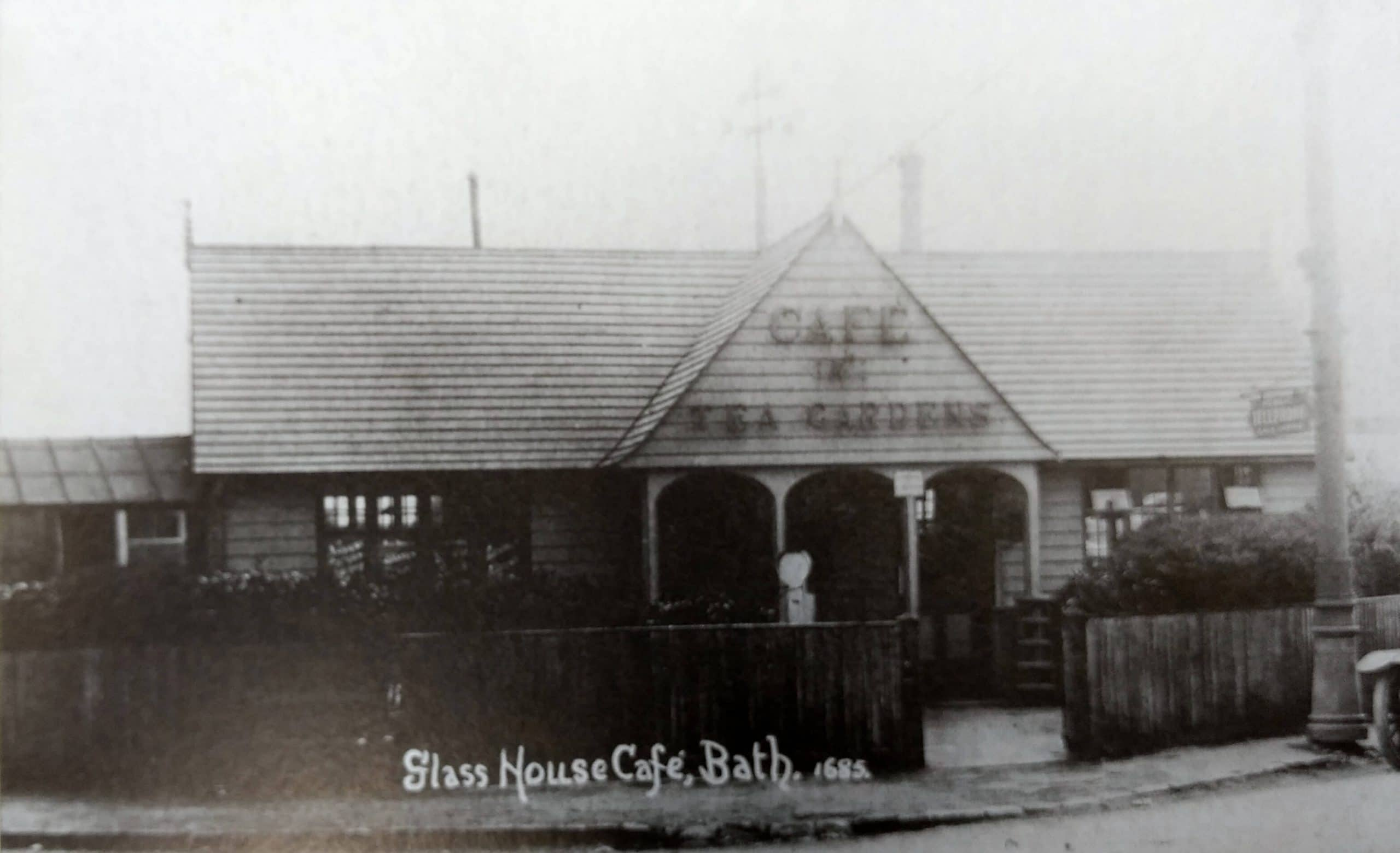 Glasshouse cafe, Combe Down about 1915