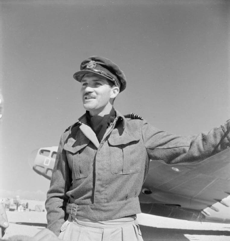 Group Captain Robert Gordon Yaxley DSO MC DFC