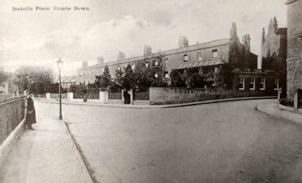 Isabella Place, Combe Down about 1910