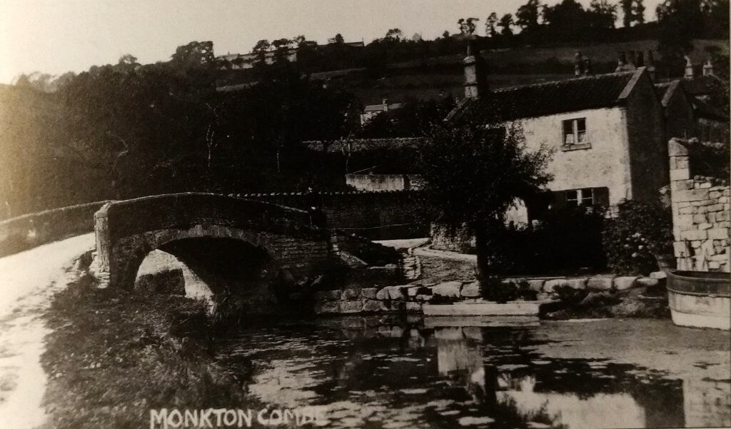 Mill Road, Monkton Combe about 1905
