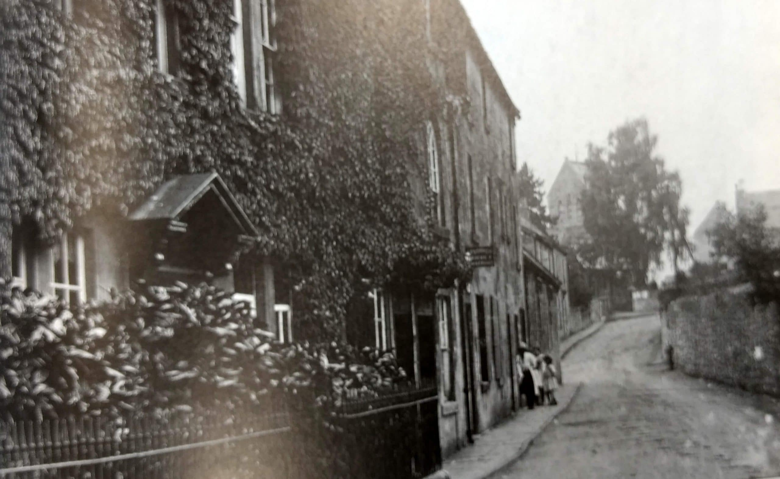 Monkton Combe about 1920