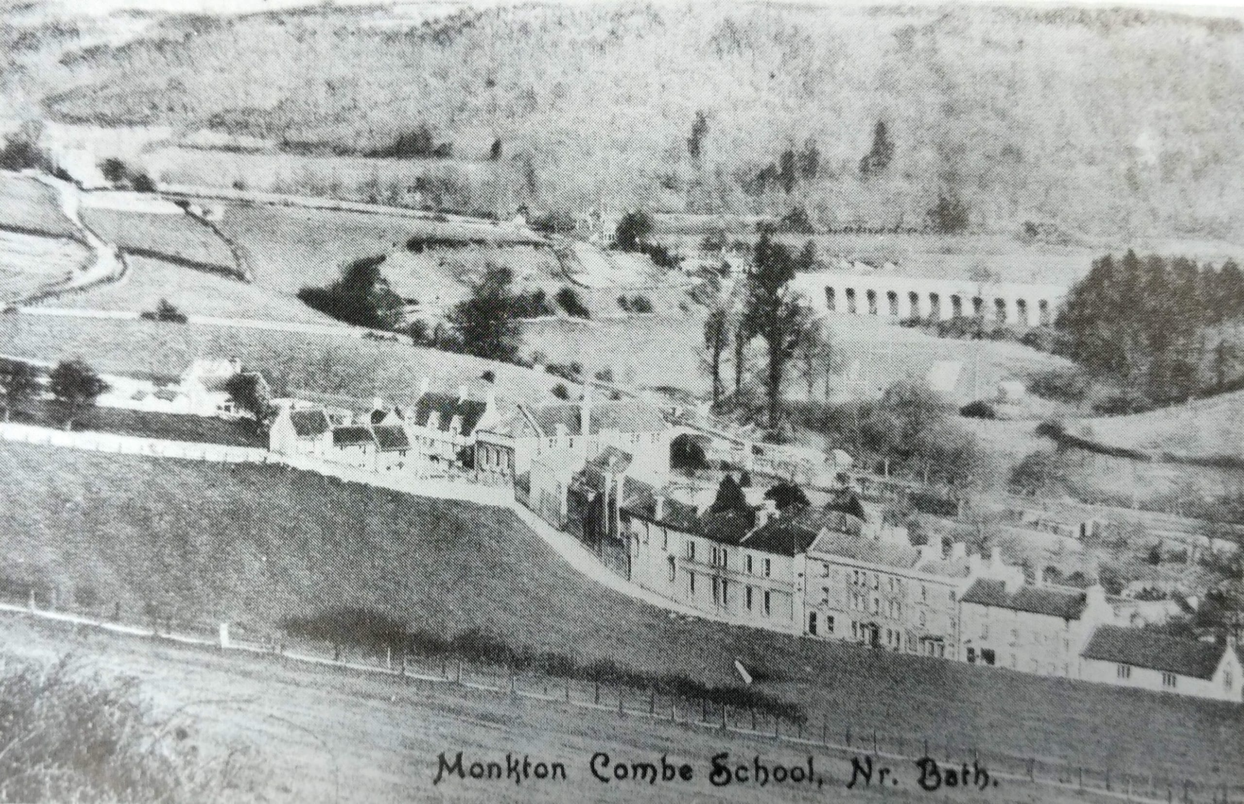 Monkton Combe school about 1904