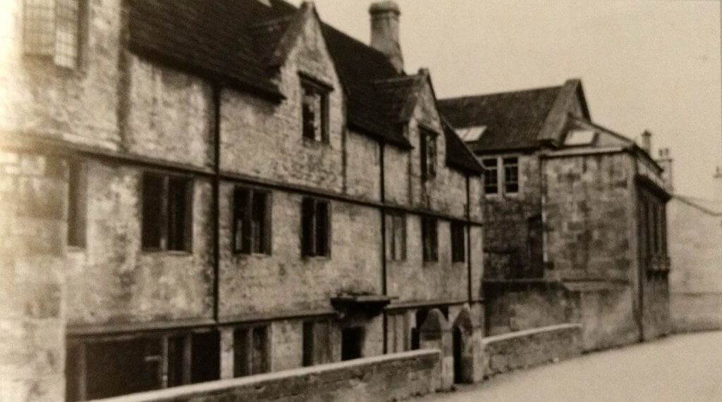 Monkton Combe school about 1905