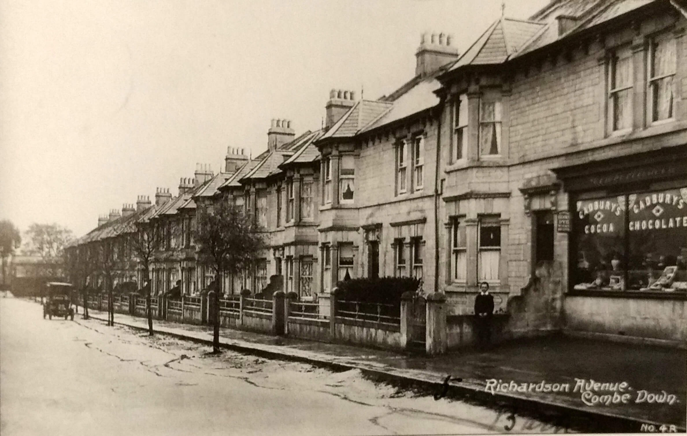Richardson Avenue (now The Firs), Combe Down about 1914