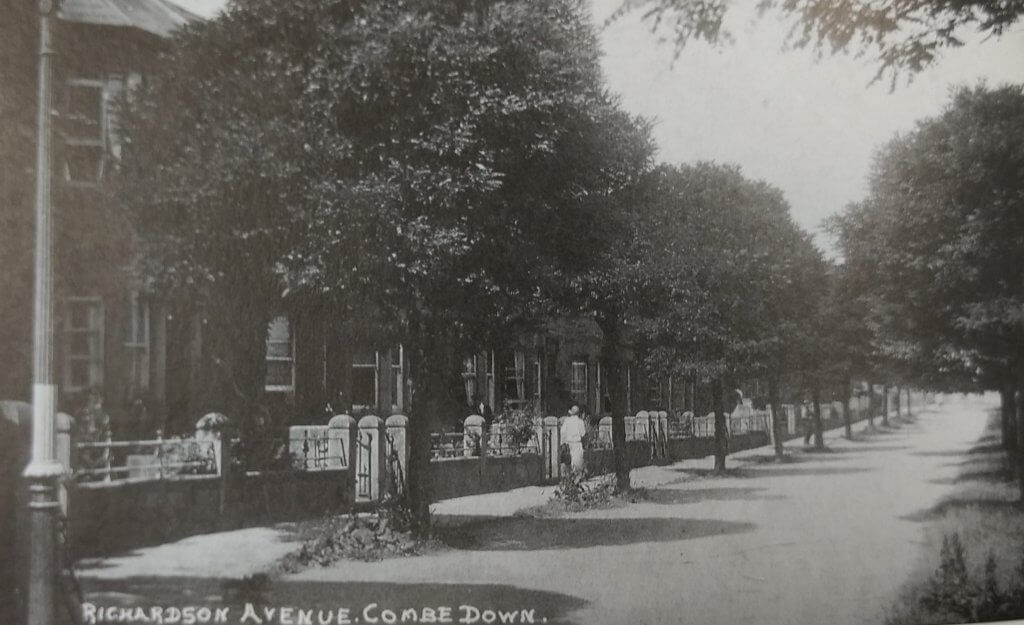 Richardson Avenue (now The Firs), Combe Down about 1920