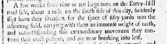 Strange tree slip - Bath Chronicle and Weekly Gazette - Thursday 19 April 1787
