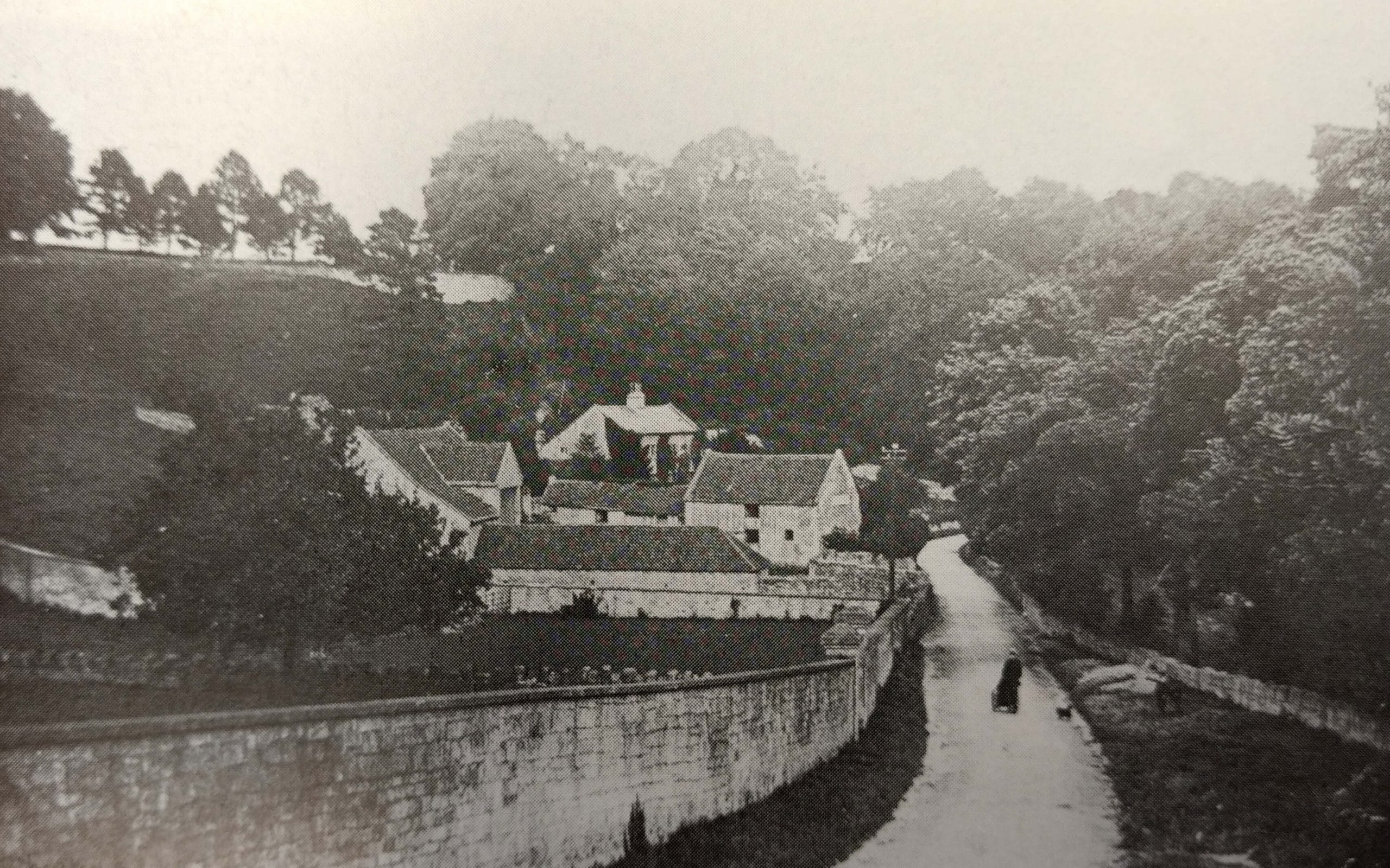 Summer Lane, Combe Down about 1906