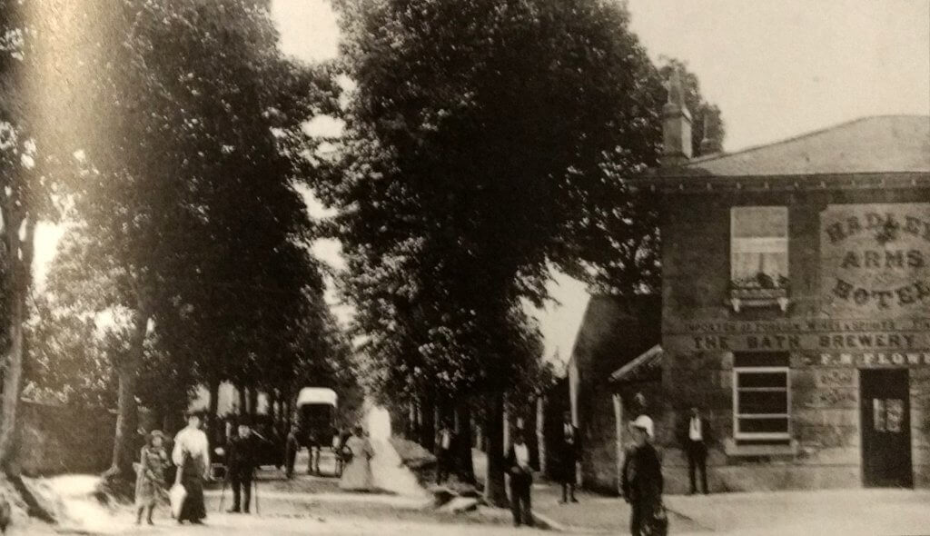 The Avenue, Combe Down about 1905