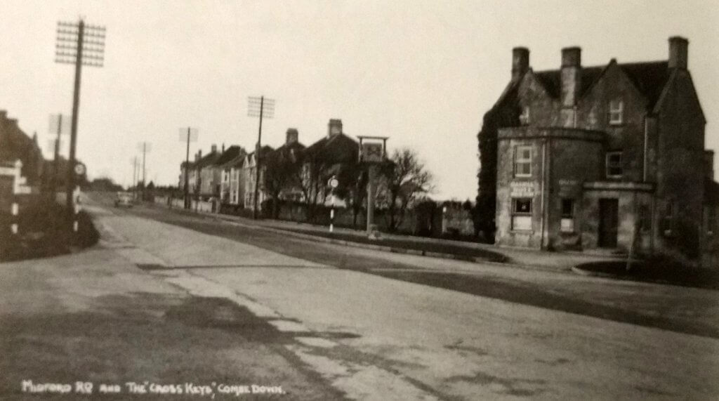 The Cross Keys, Combe Down about 1940