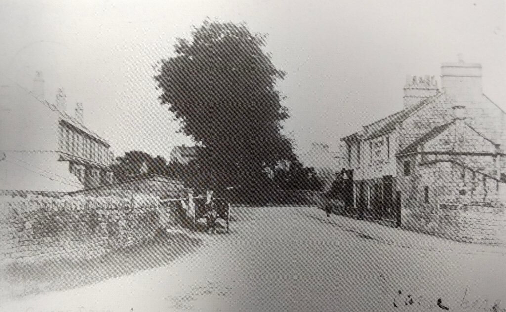 The old post office on Church Road about 1906