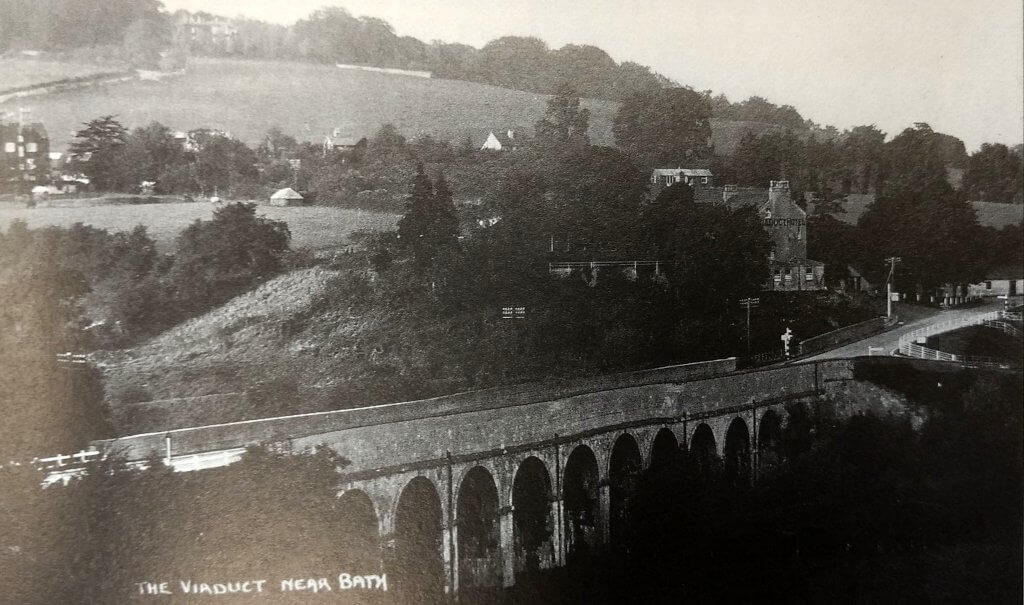 The Viaduct, Monkton Combe about 1935