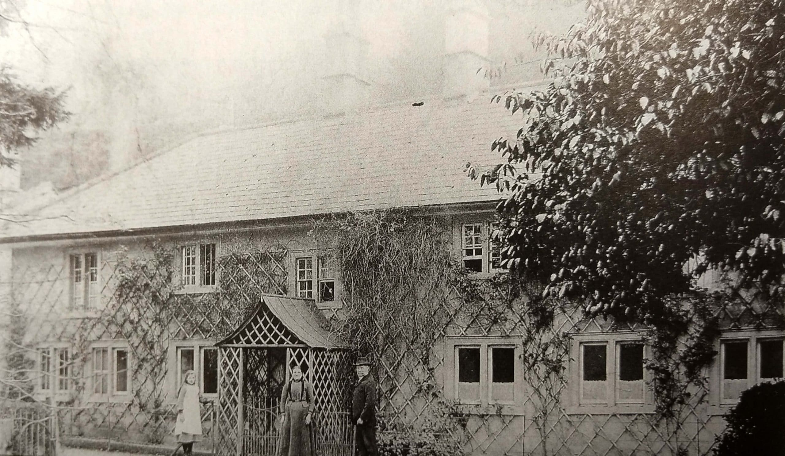 Waterhouse cottage, Monkton Combe about 1906