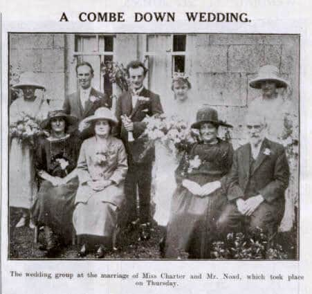 Charter - Noad wedding - Bath Chronicle and Weekly Gazette - Saturday 2 August 1924