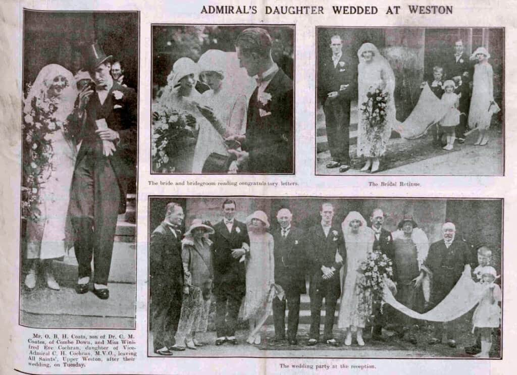 Coates - Cochran wedding - Bath Chronicle and Weekly Gazette - Saturday 30 May 1925